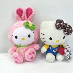 Sanyo hello kitty plush collection